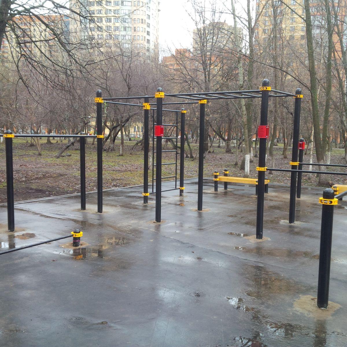 Reutov - Street Workout Park - Юбилейный Проспект