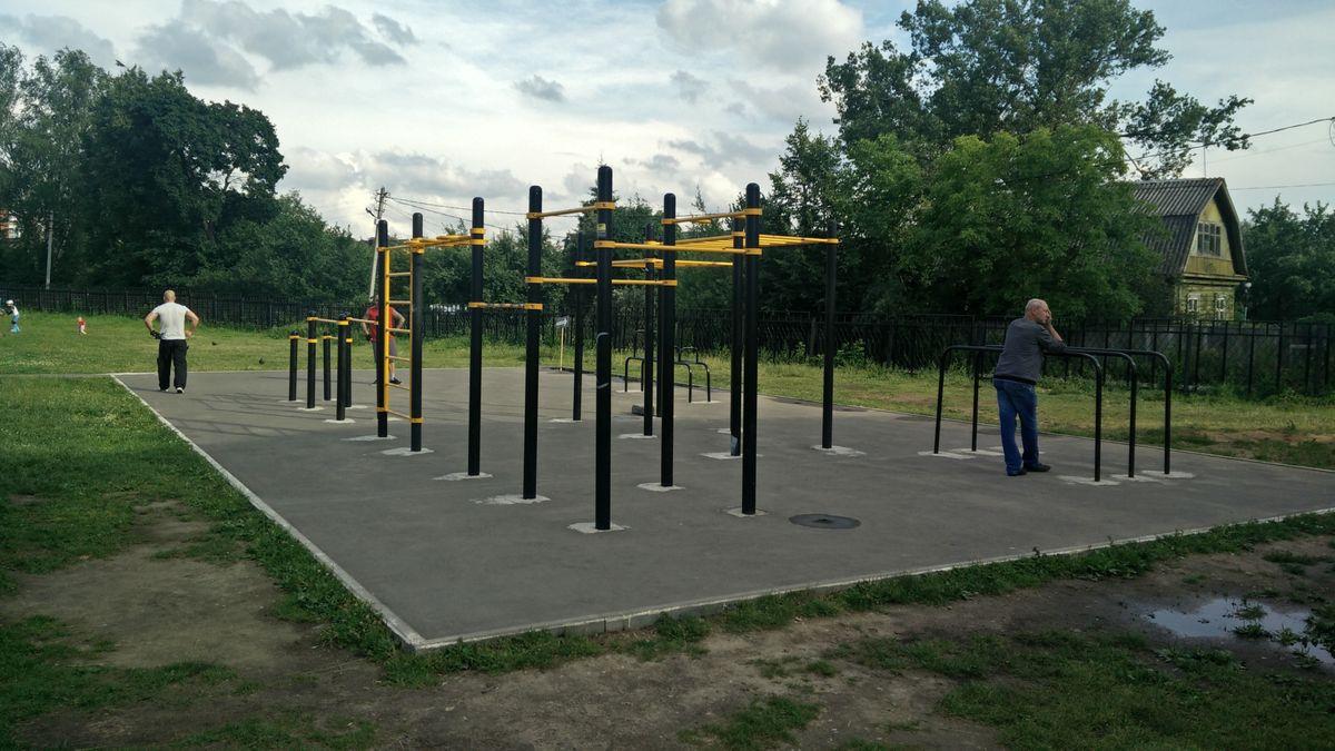 Pushkino - Outdoor Gym - Стадион «Пушкино»