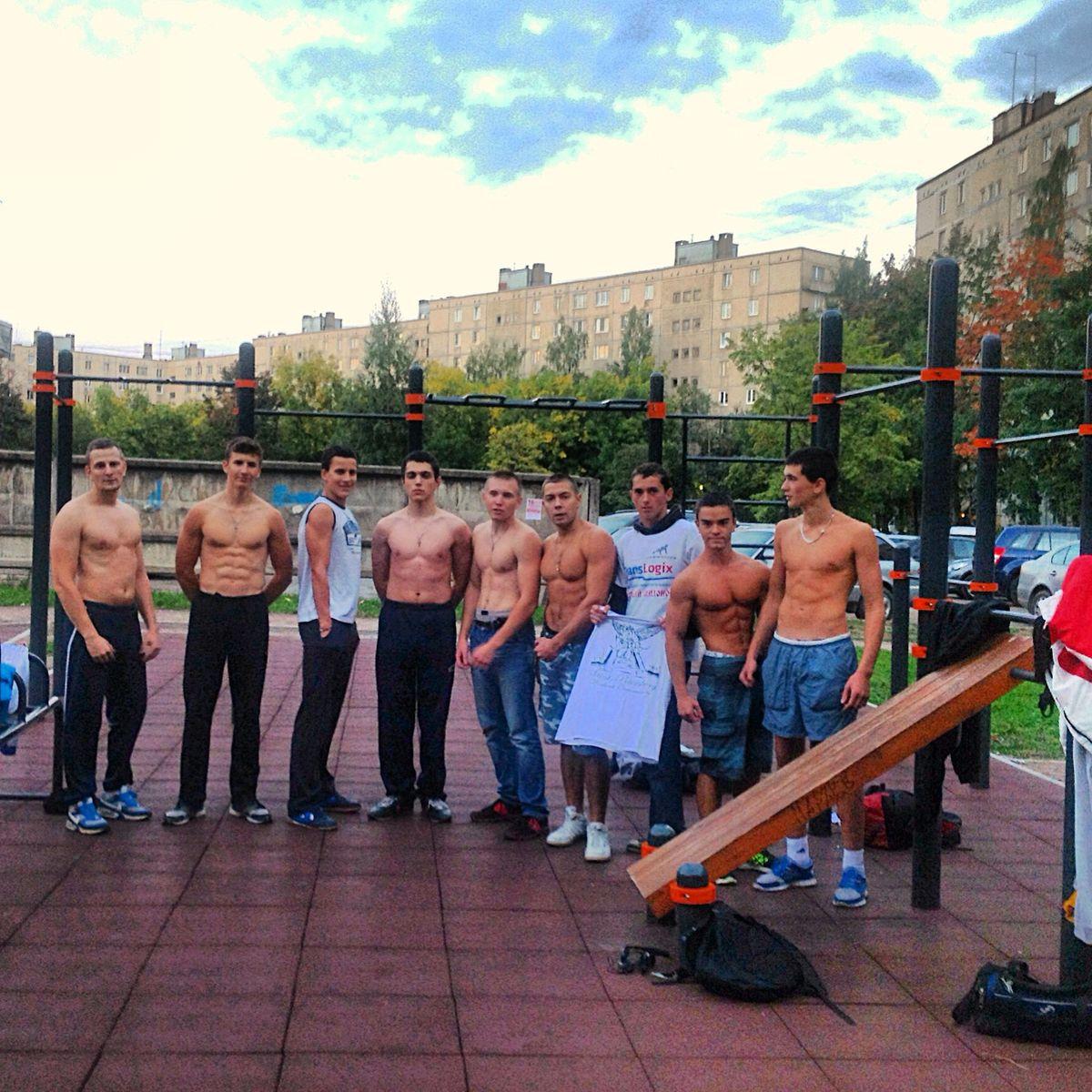 Saint Petersburg - Street Workout Park - Ул Малая Балканская