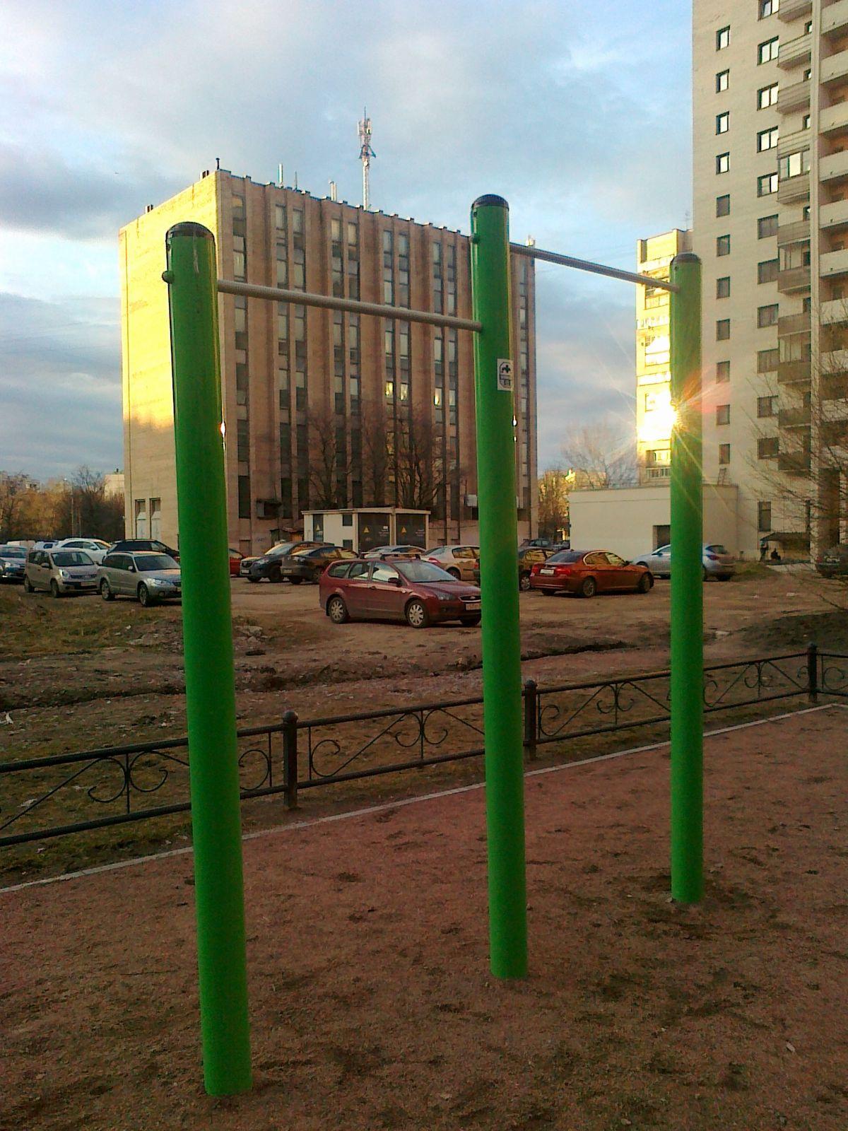Saint Petersburg - Calisthenics Park - Улица Нахимова