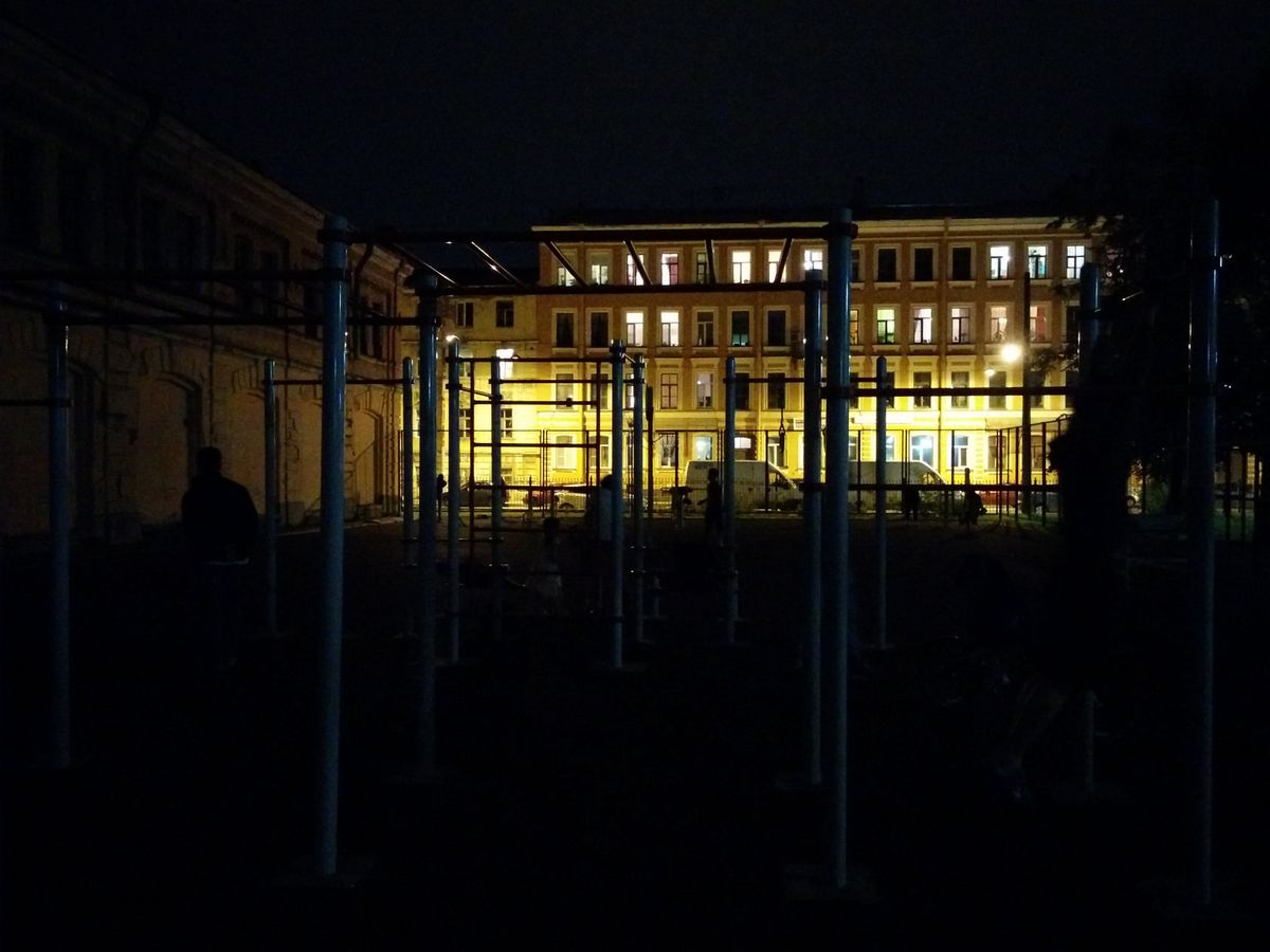 Saint Petersburg - Street Workout Park - 4-Я Советская Улица