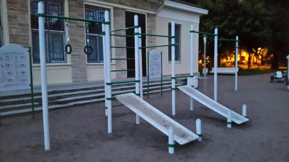 Saint Petersburg - Outdoor Gym - Ул Кирочная