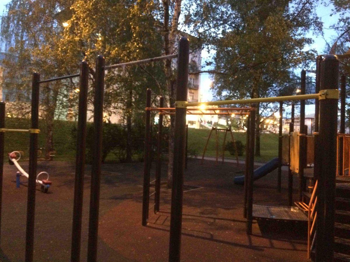 Moscow - Street Workout Park - Улица Волхонка