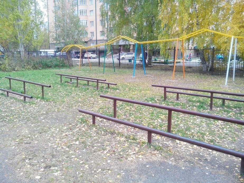 Novosibirsk - Street Workout Park - Улица Полевая