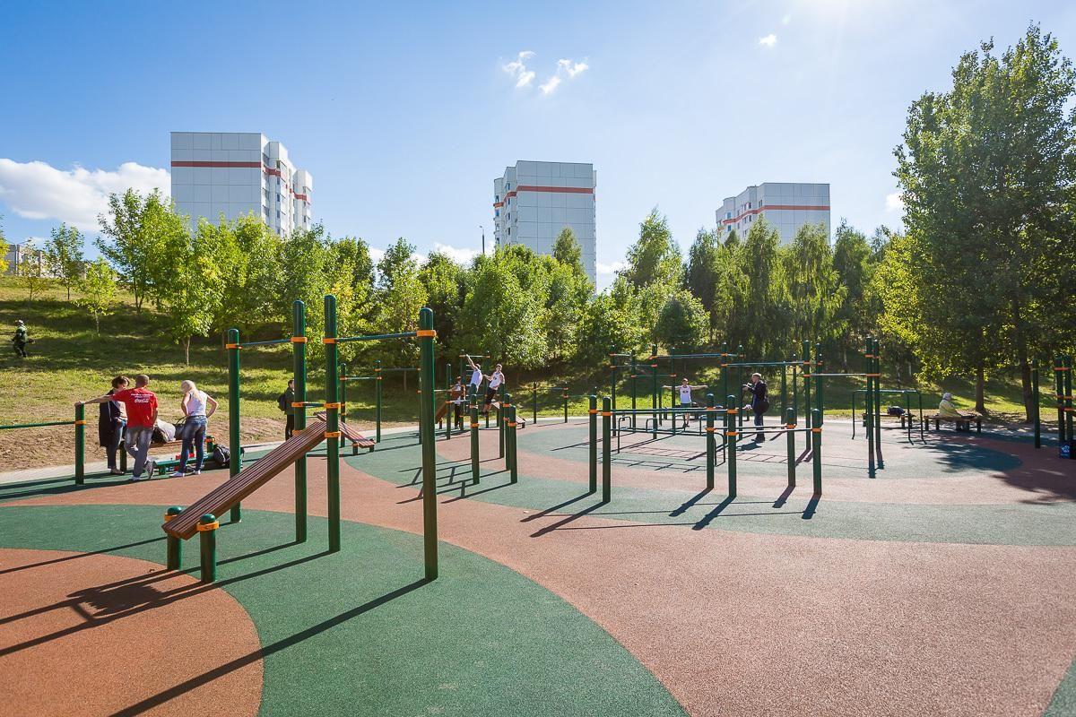 Minsk - Fitness Park - Улица Космонавтов