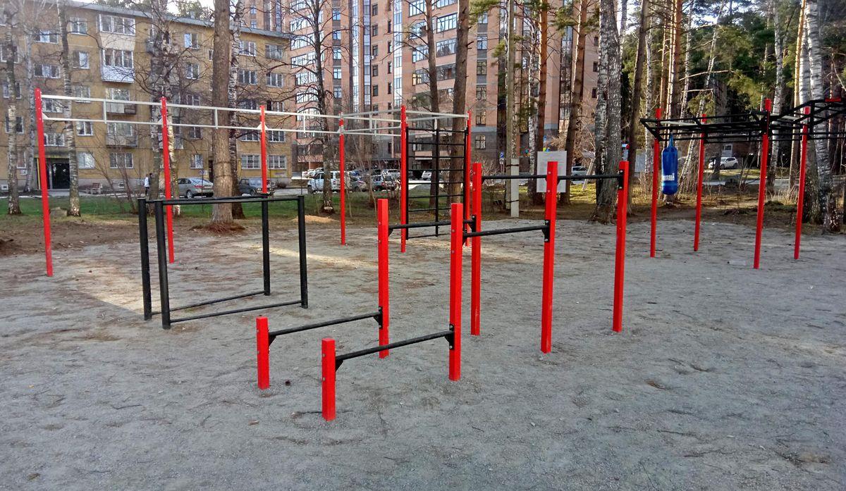 Novosibirsk - Street Workout Park - Улица Шатурская