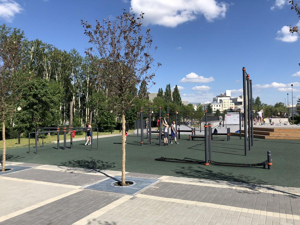 Yekaterinburg - Outdoor Gym - Бульвар