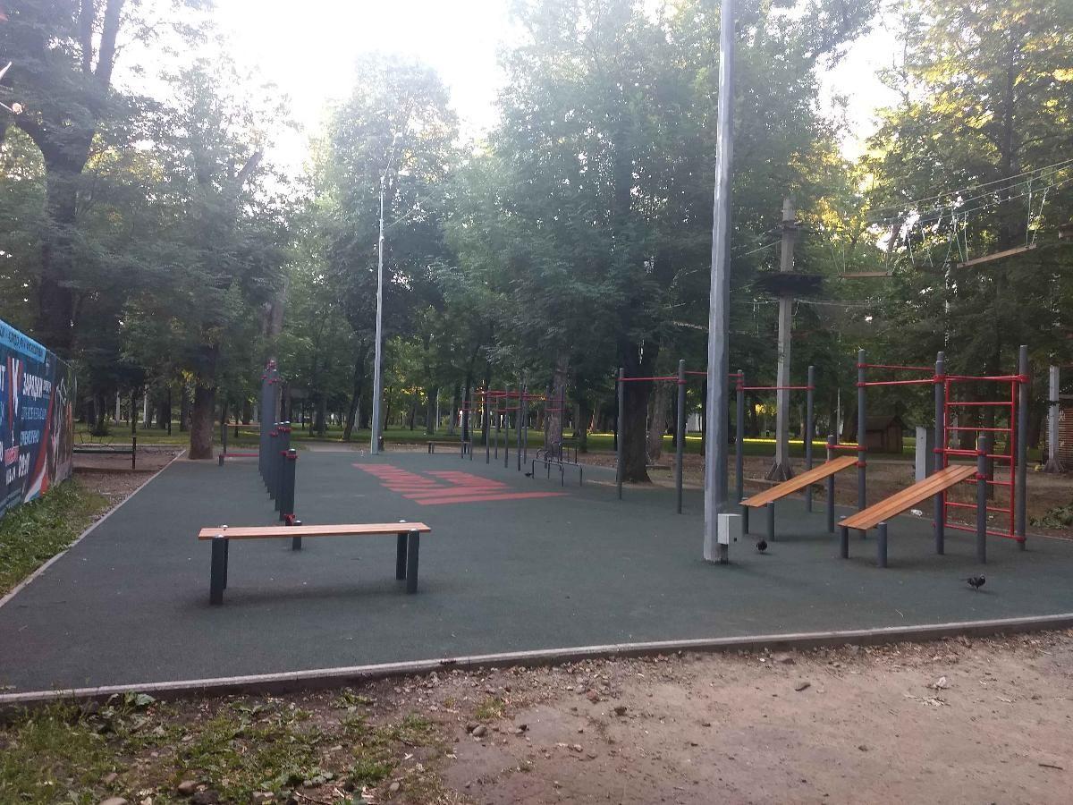 Krasnodar - Street Workout Park - Спортивная Аллея