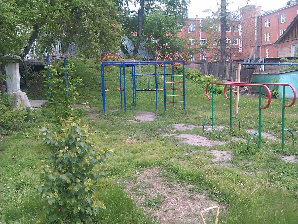 Novosibirsk - Street Workout Park - Улица Свердлова