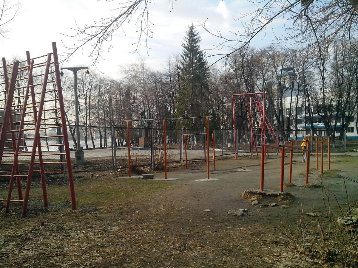 Yekaterinburg - Outdoor Gym - Зимний Сад