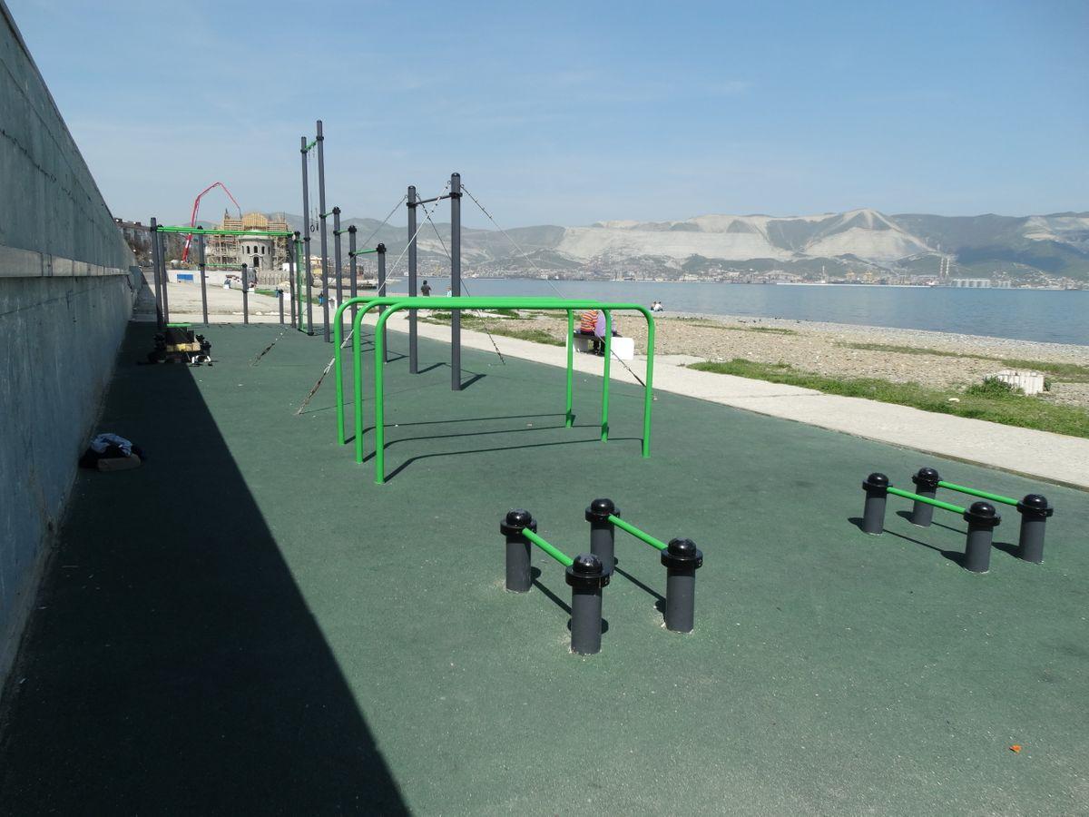 Novorossiysk - Fitness Park - Улица Набережная Адмирала Серебрякова
