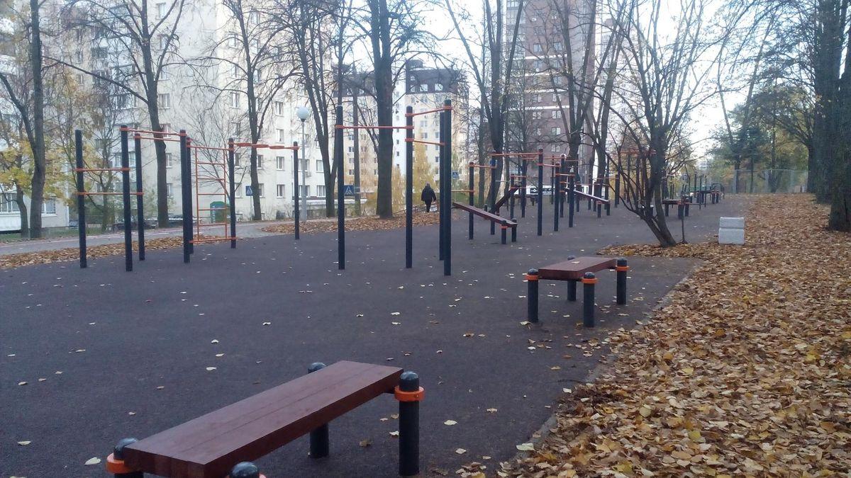 Minsk - Street Workout Park - Восточная Улица