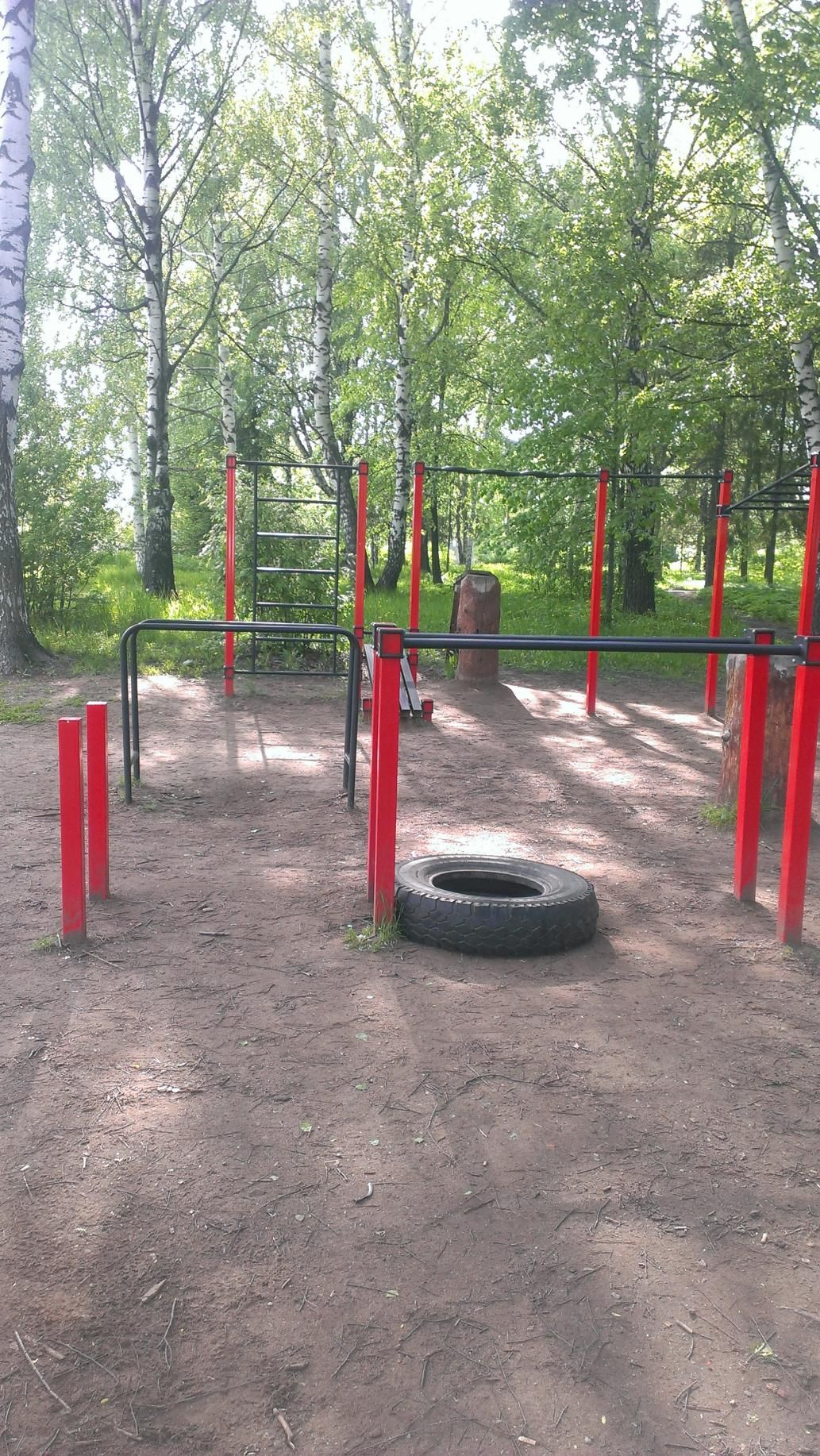 Izhevsk - Street Workout Park - Олимпиец