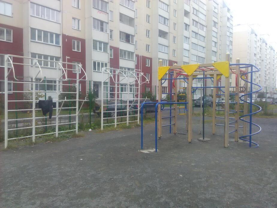 Novosibirsk - Street Workout Park - Улица В Высоцкого