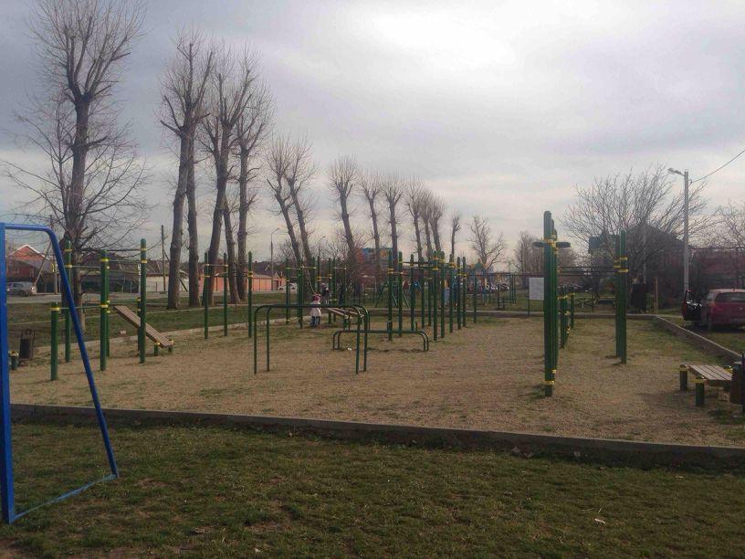 Krasnodar - Calisthenics Gym - Улица Константина Симонова
