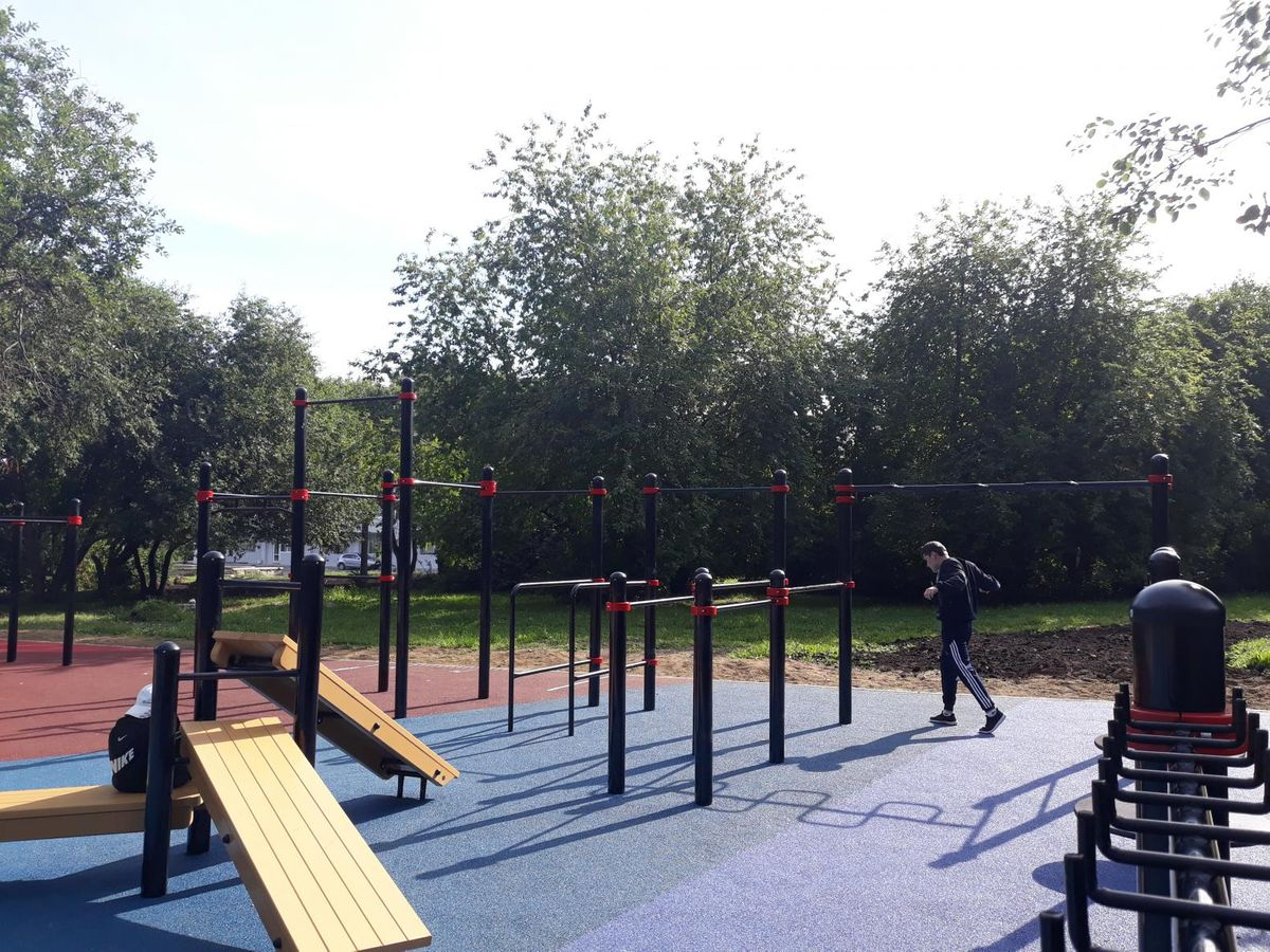 Yekaterinburg - Street Workout Park - Фито-бар