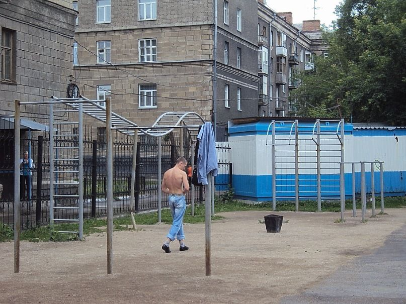 Novosibirsk - Calisthenics Gym - Проспект Карла Маркса