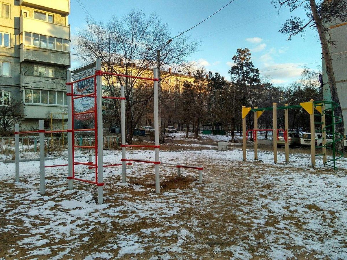Chita - Street Workout Park - Ривьера Gold