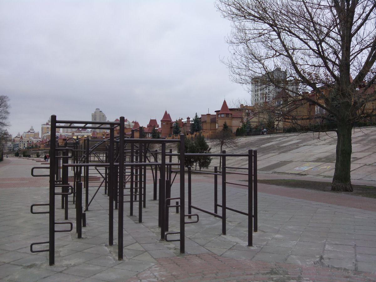 Kyiv - Calisthenics Park - Скорпіон / Scorpio