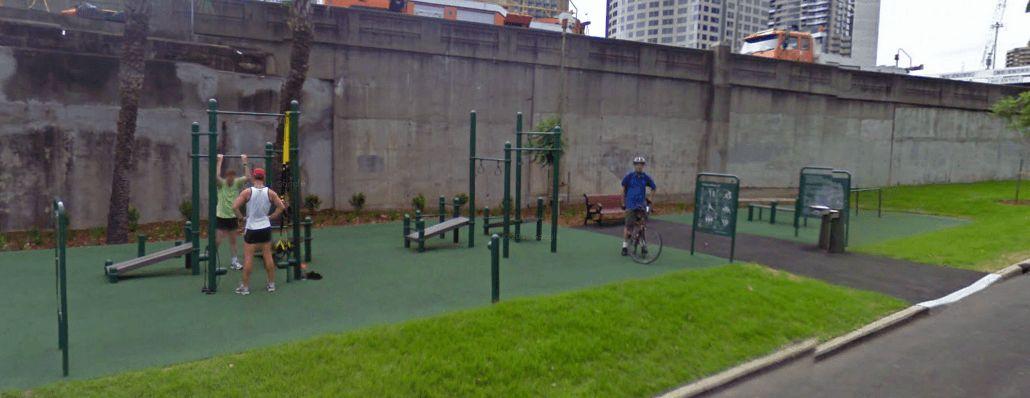 Sydney - Calisthenics Gym - Upper Fort Street