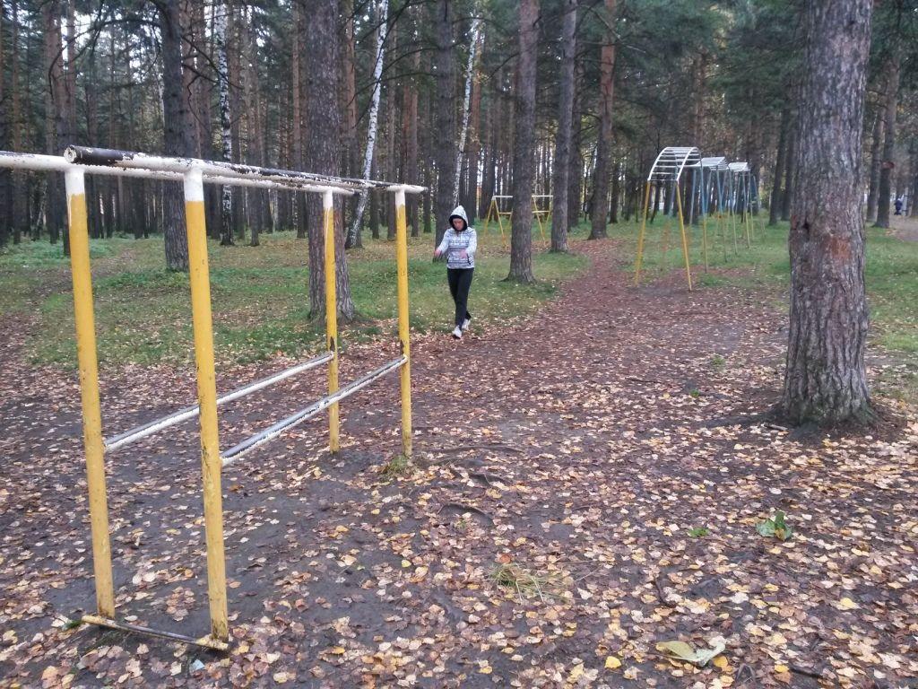Yekaterinburg - Calisthenics Gym - Парк-Стадион Химмаш
