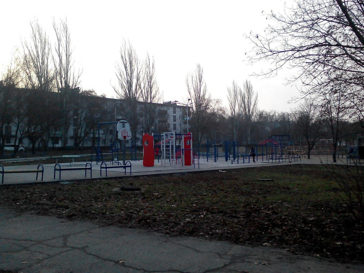 Zaporizhzhya - Street Workout Park - Impero Coffe