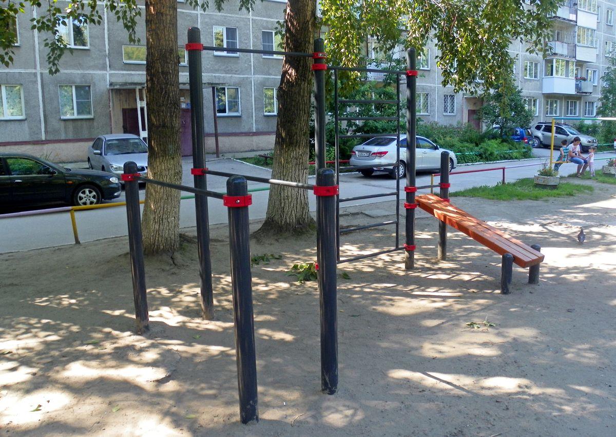 Novosibirsk - Fitness Park - Улица Бориса Богаткова