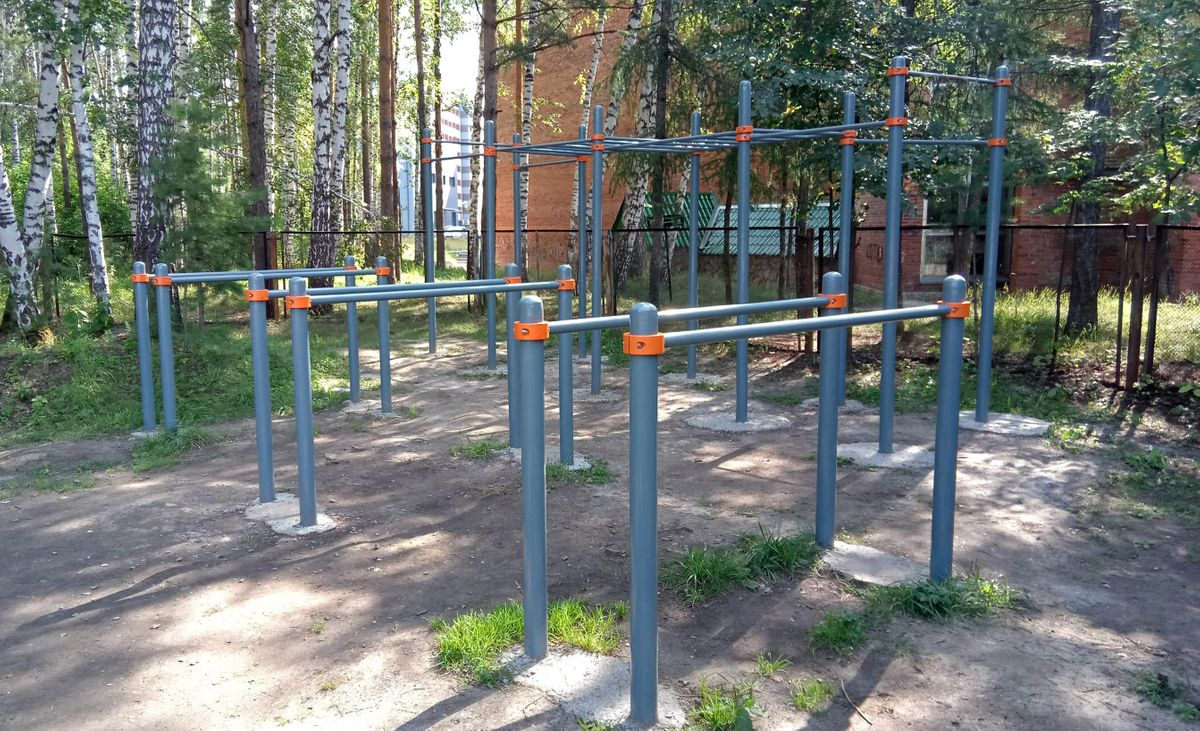 Novosibirsk - Fitness Park - Стадион НГУ