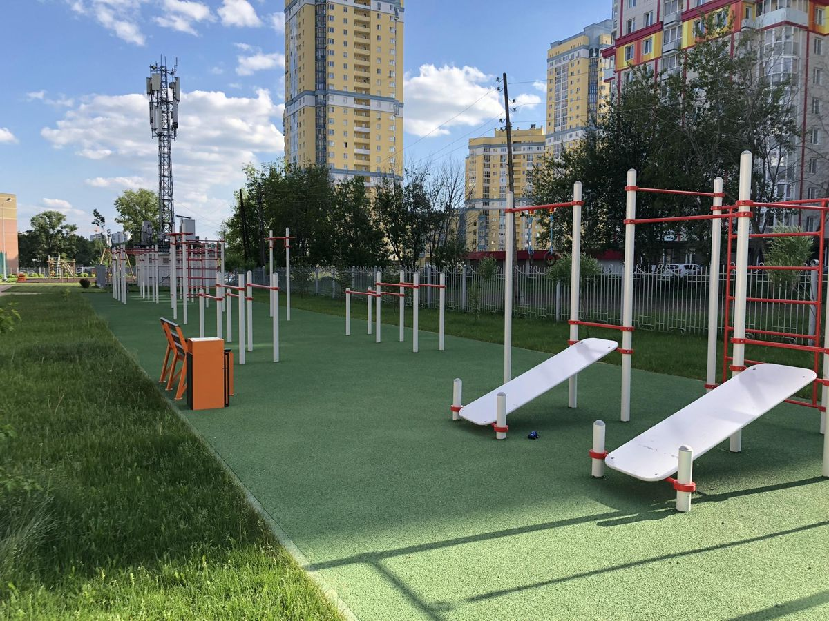 Yekaterinburg - Street Workout Park - Гимназия №39
