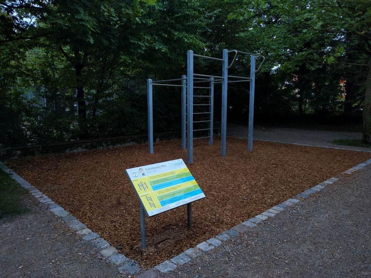 Munich - Outdoor Gym - Freybergweg
