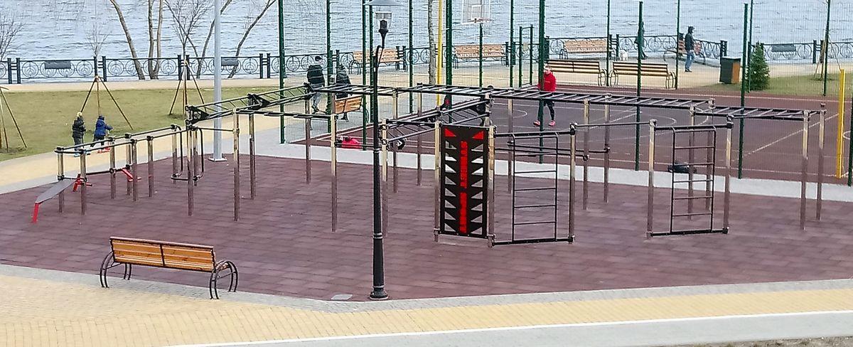 Kyiv - Street Workout Park - Volume Park