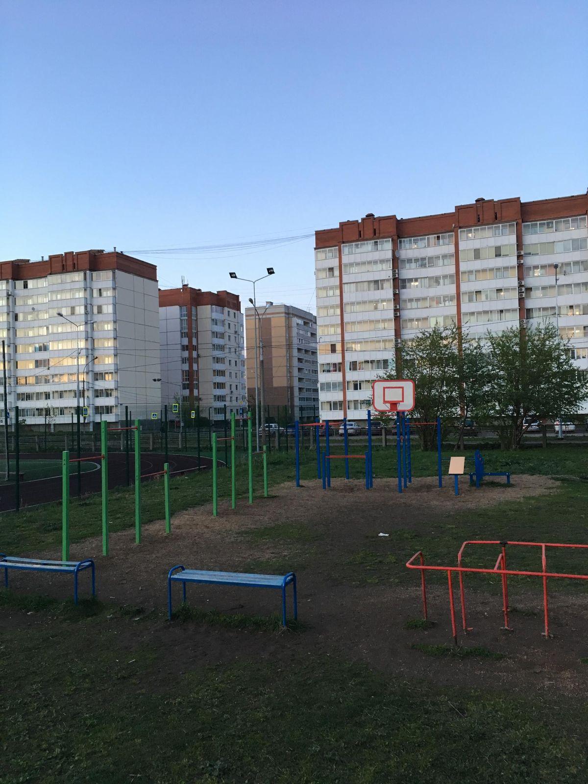 Nizhny Tagil - Street Workout Park - Школа #69