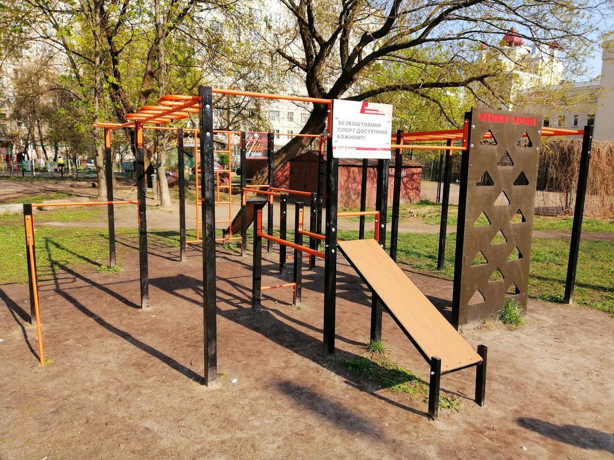 Kyiv - Calisthenics Park - Дубровицкая 8