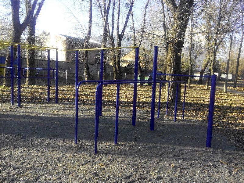 Kyiv - Street Workout Park - Вильгельма Пика 10