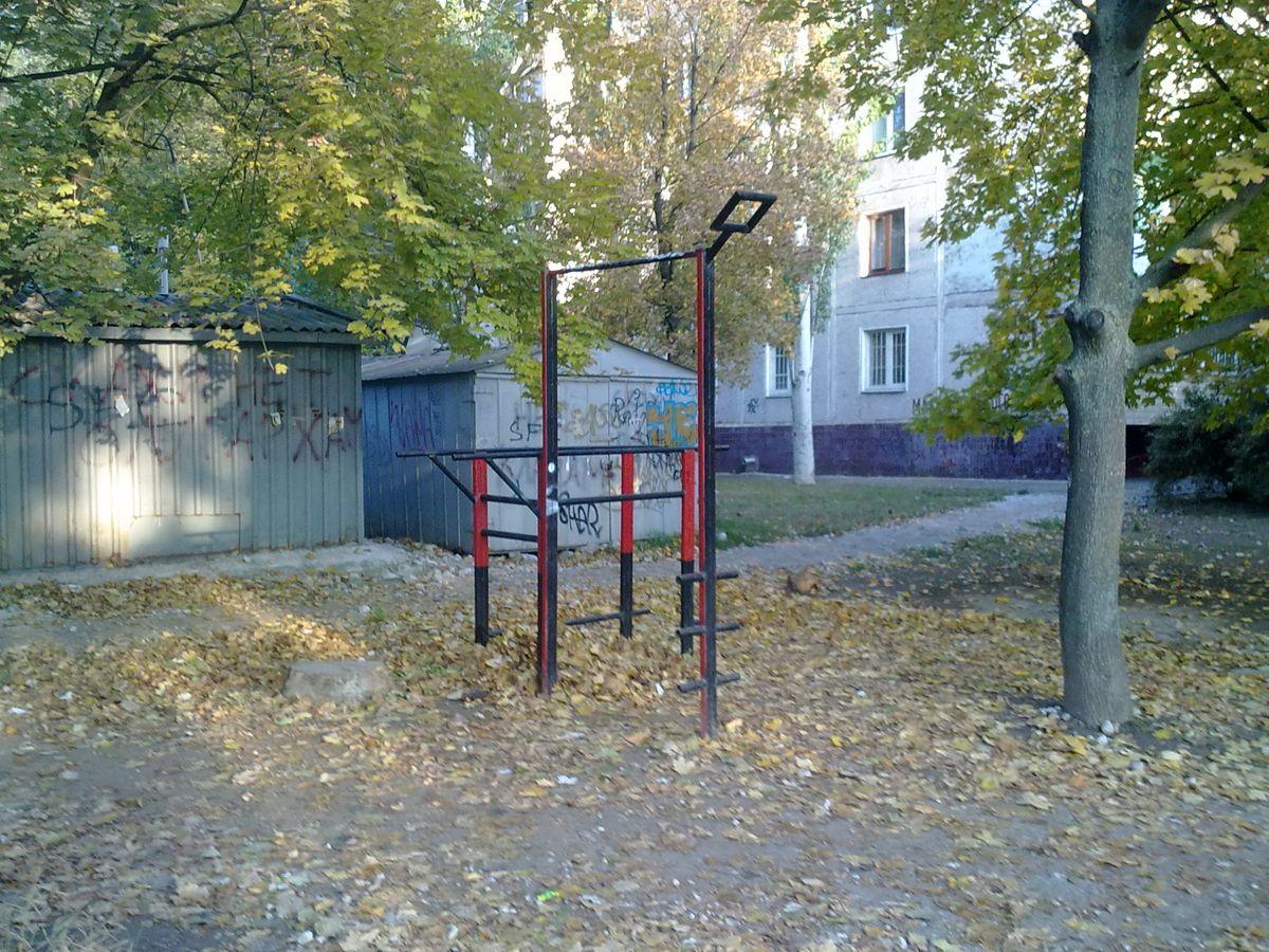 Zaporizhzhya - Outdoor Gym - ЗАГС Коммунарского Района