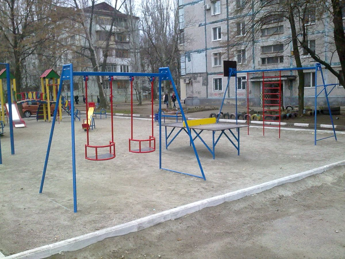 Zaporizhzhya - Street Workout Park - Шашлычная №1