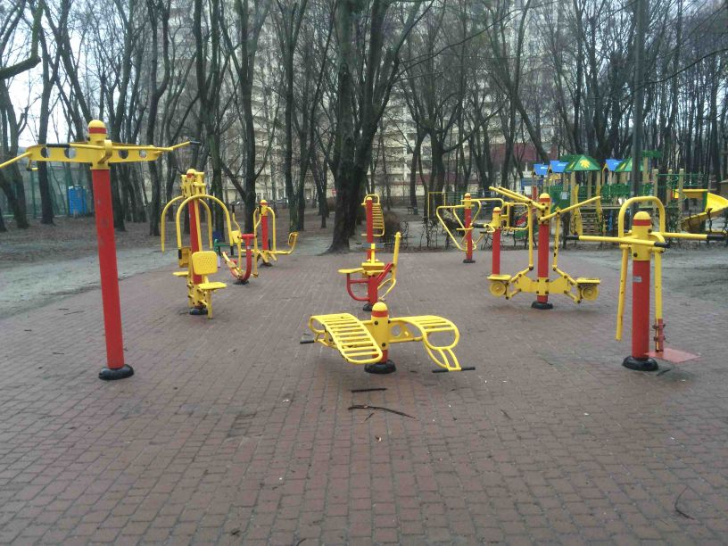 Kyiv - Street Workout Park - San Paulo Caffe