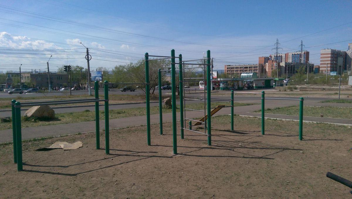 Chita - Outdoor Gym - Супермаркет  Спутник