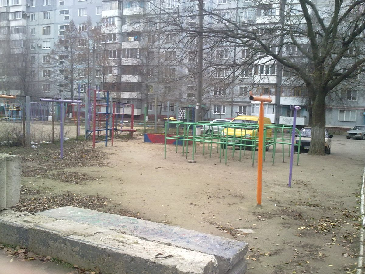 Zaporizhzhya - Fitness Park - Стадион Школы №84