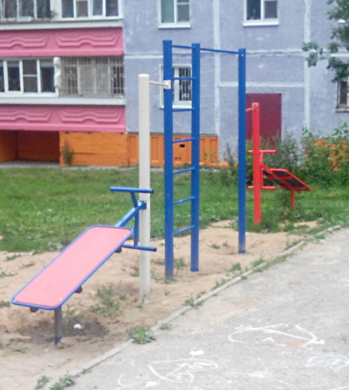 Nizhny Novgorod - Calisthenics Park - Почта России 603087