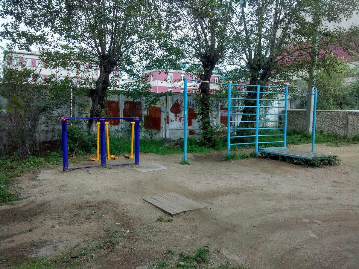 Chita - Street Workout Park - Караван