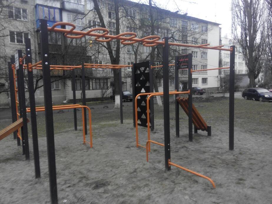 Kyiv - Street Workout Park - Гаражи Тюльпан