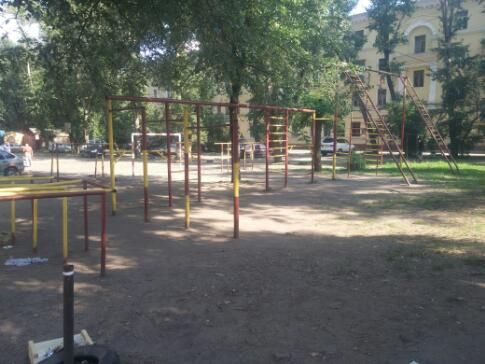 Voronezh - Street Workout Park - Робин Сдобин