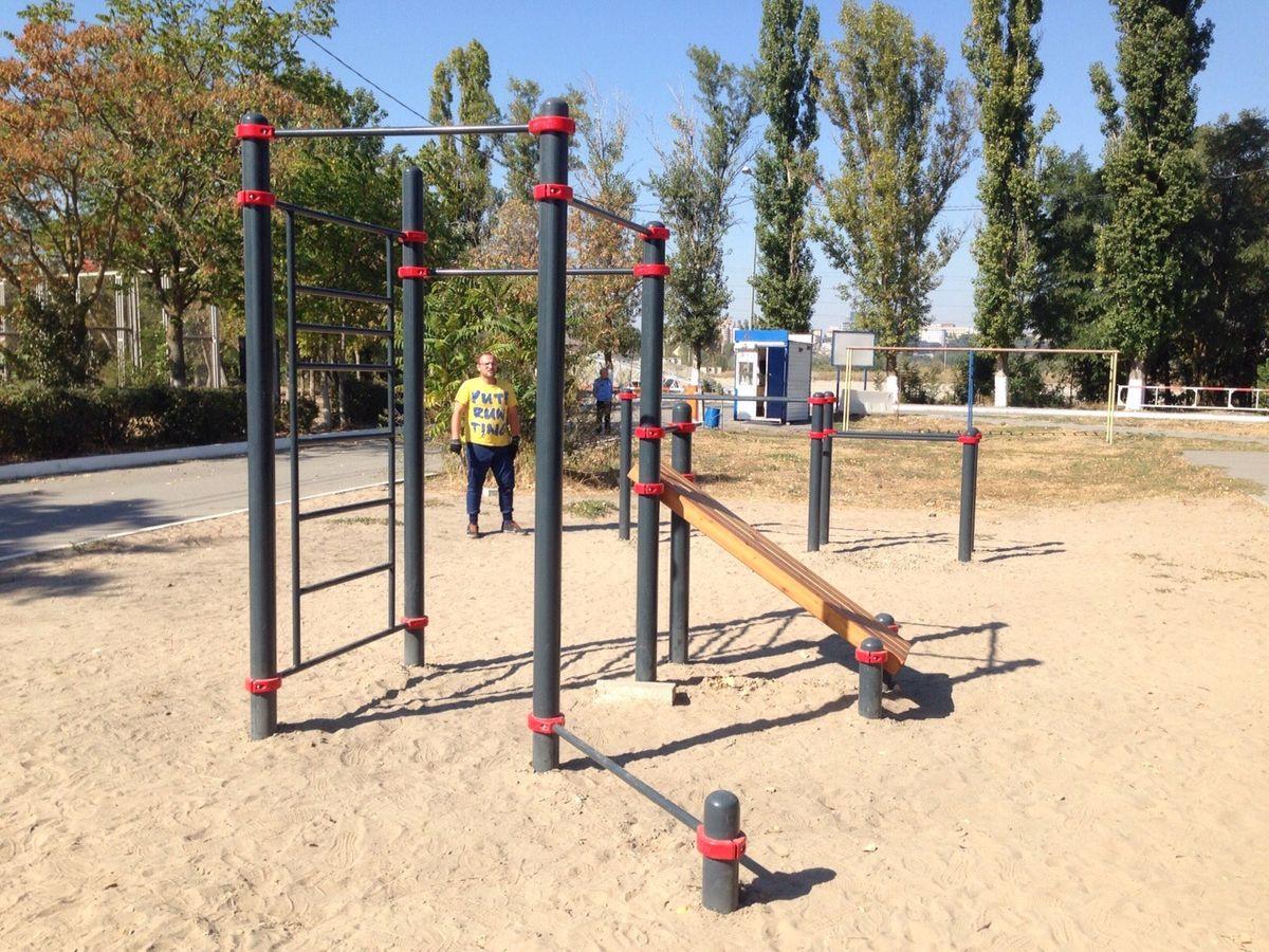 Rostov-on-Don - Street Workout Park - ТНК