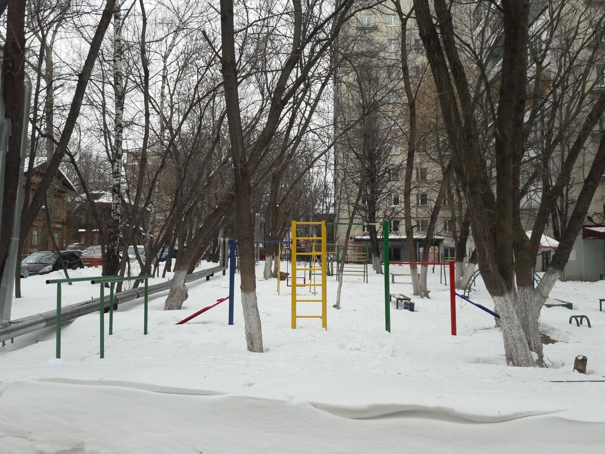 Nizhny Novgorod - Outdoor Gym - Почта России 603155