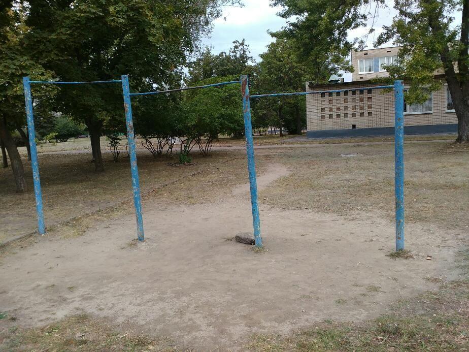 Khortytsia - Street Workout Park - Shell