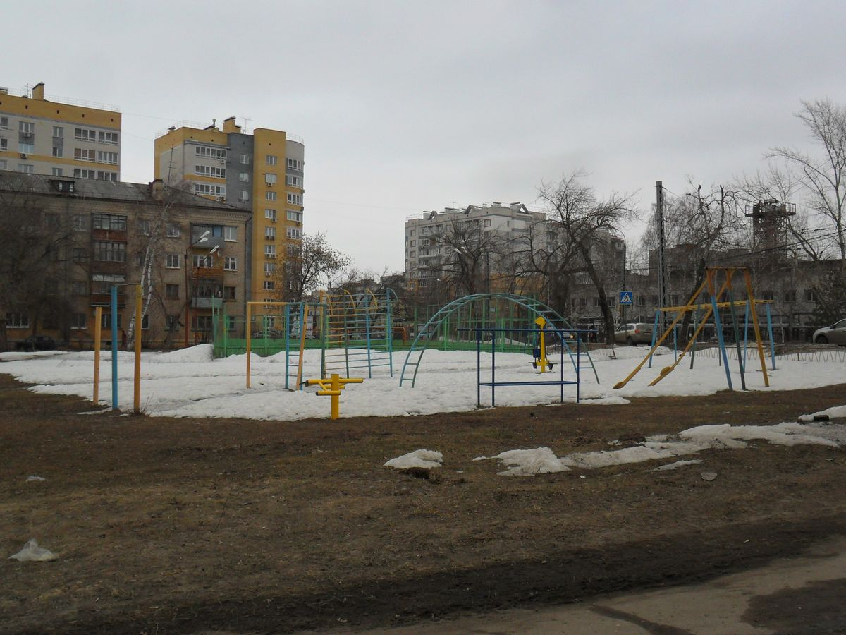 Nizhny Novgorod - Street Workout Park - Почта России 603040
