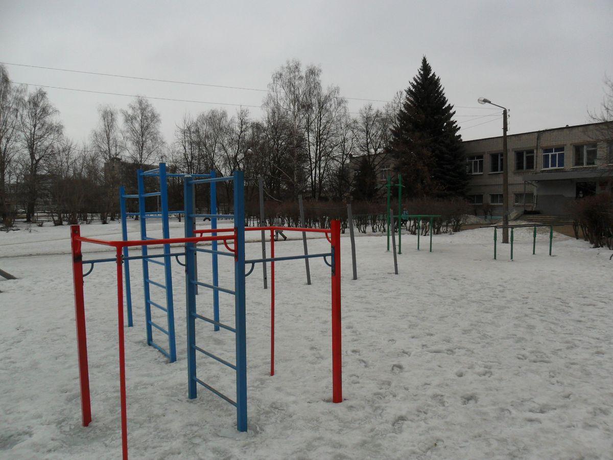 Nizhny Novgorod - Street Workout Park - Детская Городская Больница 17