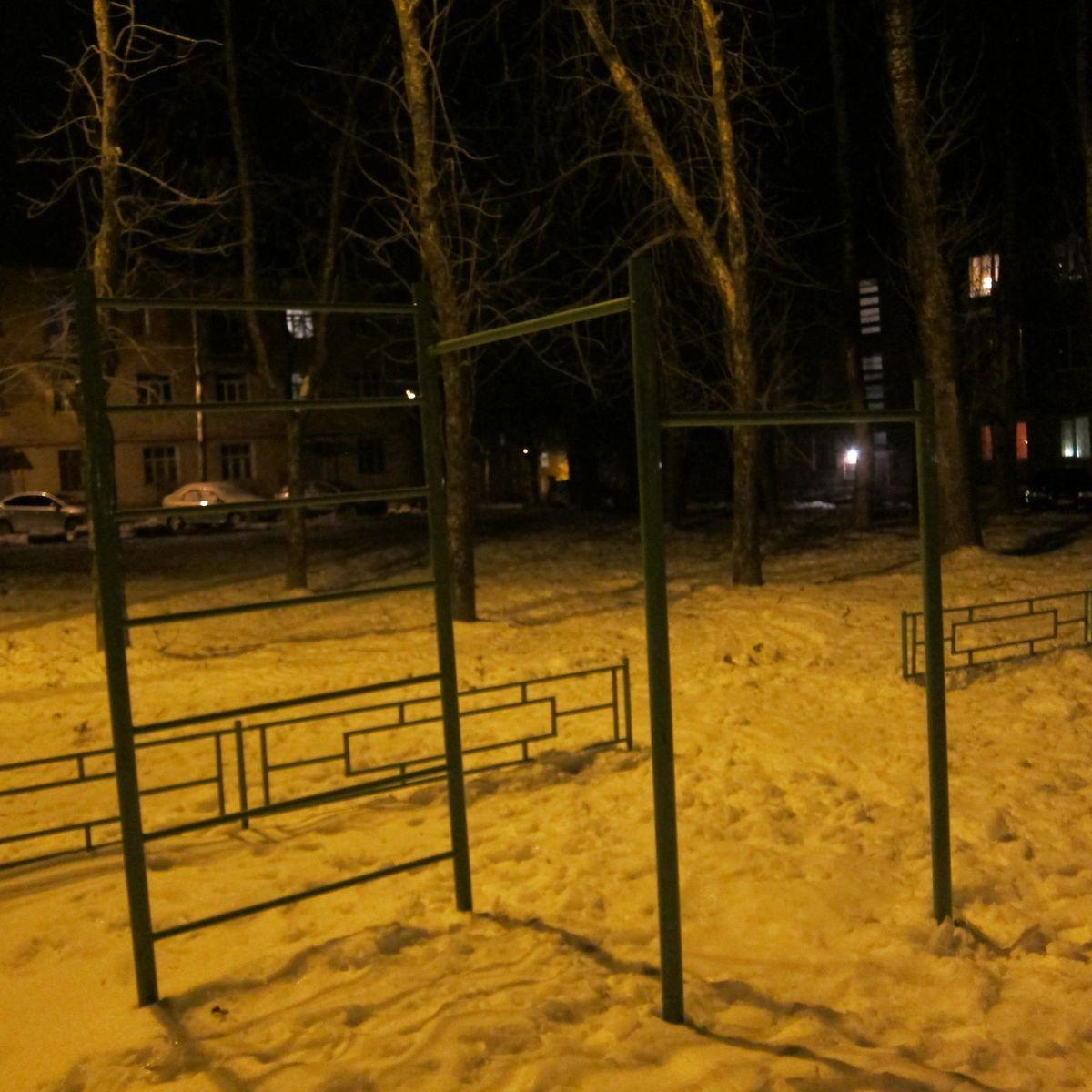Sergiyev Posad - Outdoor Gym - Улица Толстого