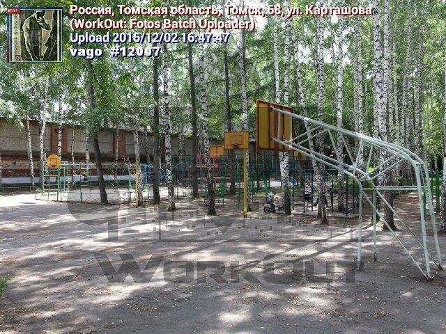 Tomsk - Street Workout Park - Школа №51